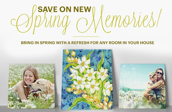 Welcome Spring with new wall art