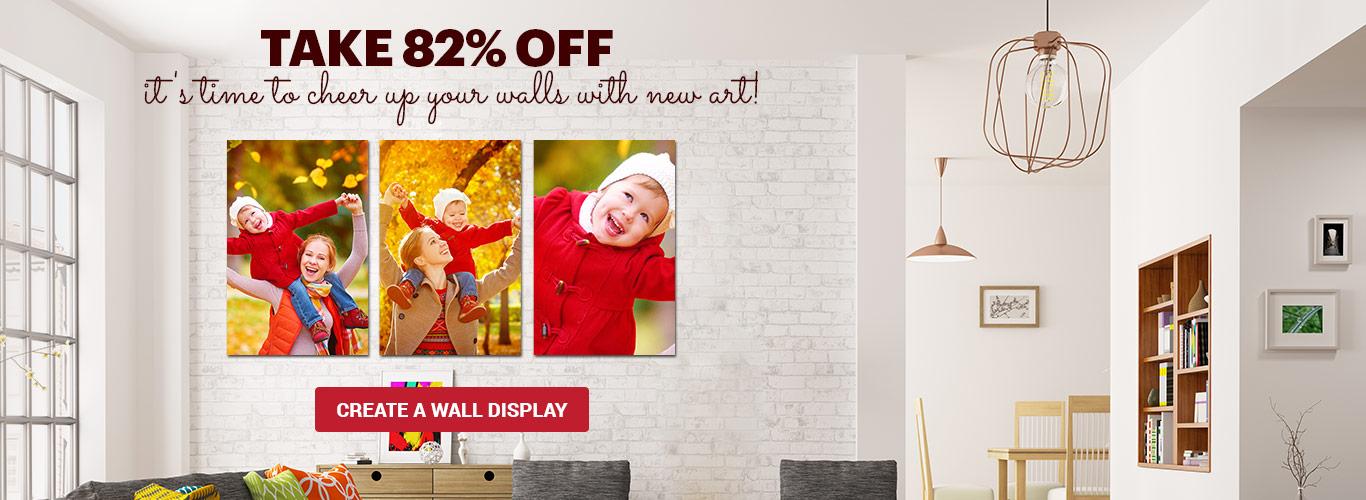 Canvas Wall Displays