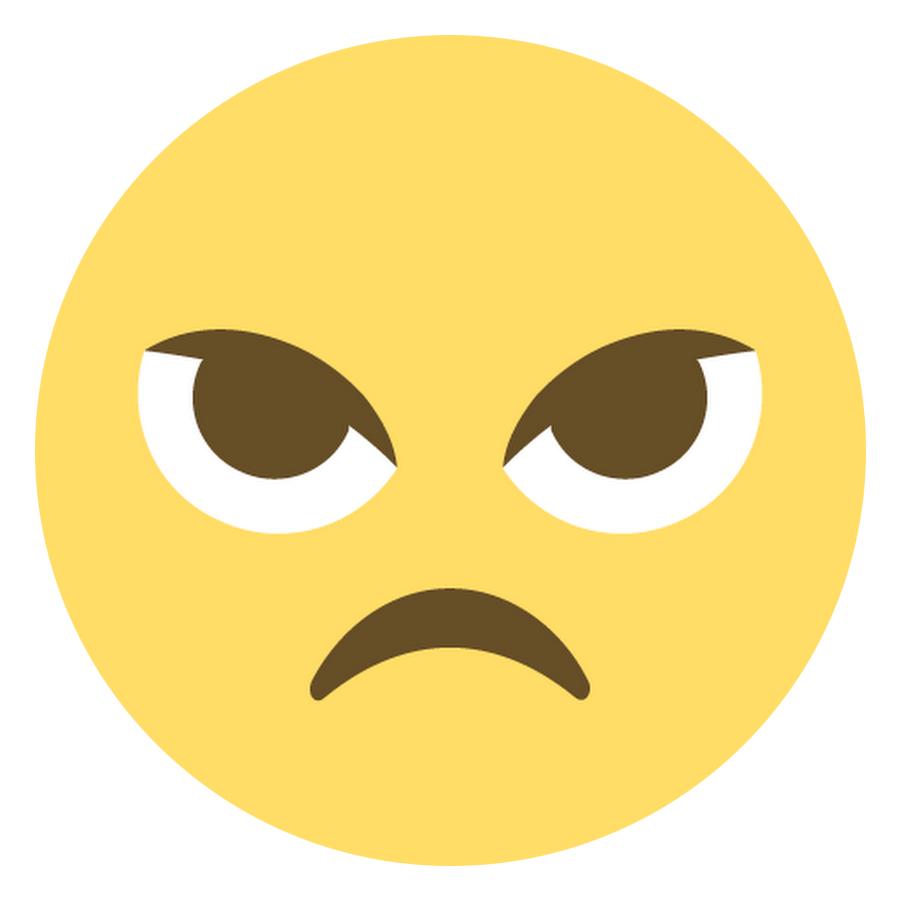 Irritated Face Emoji