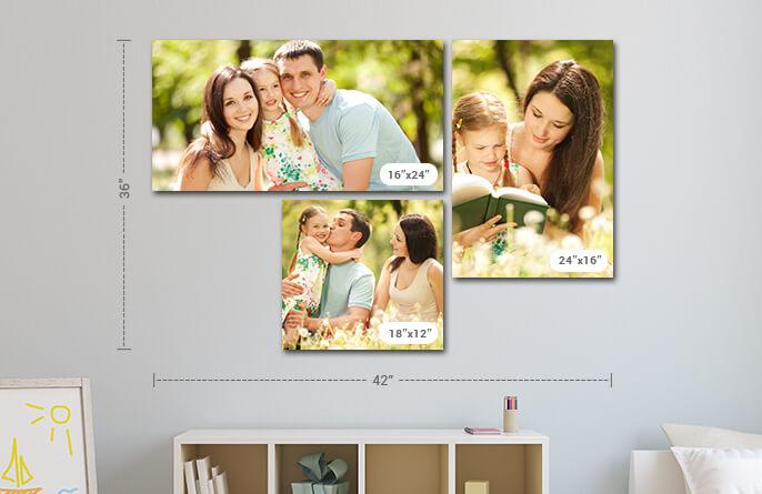 3 Panel Displays