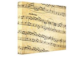 Sheet Music Canvas Print – Wall Art