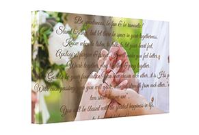 Canvas Wall Art-Wedding Vows Canvas