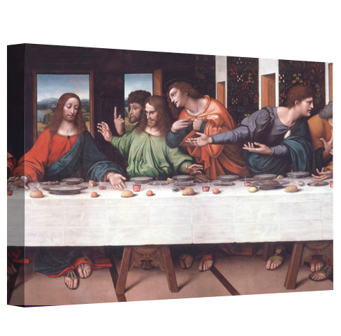 The Last Supper by Leonardo da Vinci on Canvas Prints
