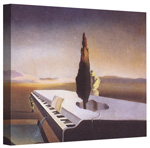 Necrophilia Fountain Flowing from a Grand Piano – Salvador Dalí