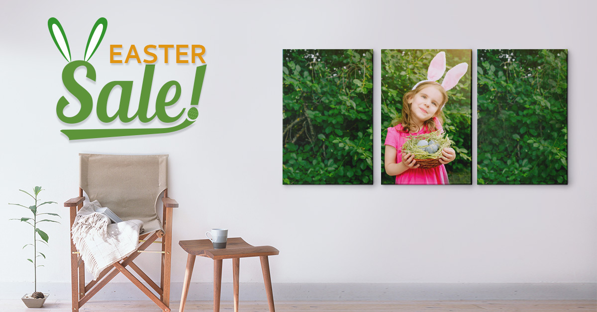 Easter Sale On CanvasChamp