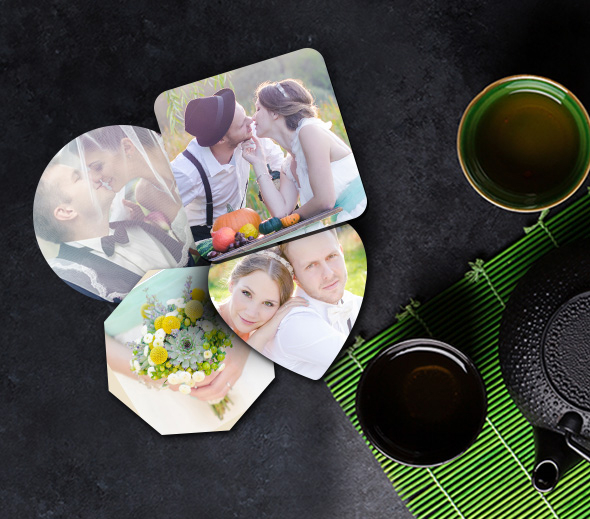 Customized your Coasters