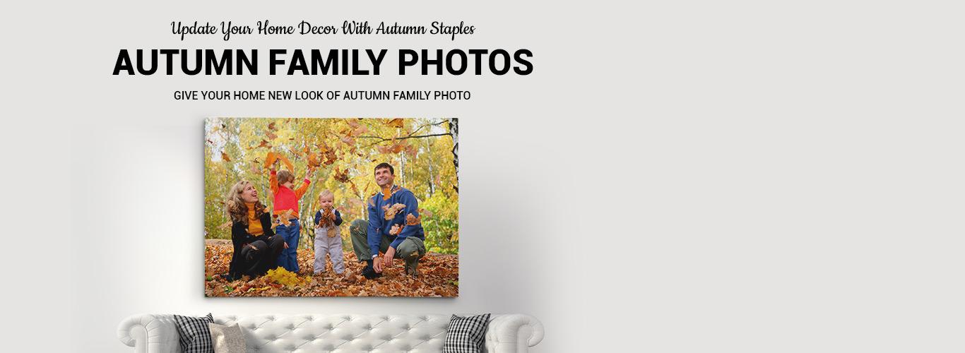 Autumn Family Photos Canvasprints