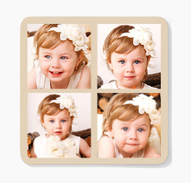 Four Photo Coasters
