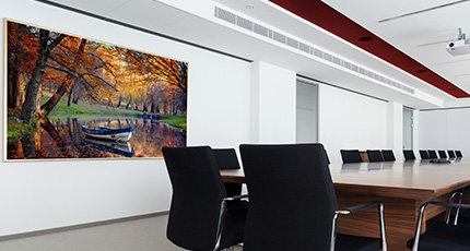 ... The Modern Office Interior (rendering)   Modern Office Wall Art ...