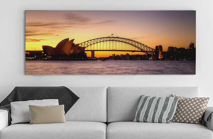 Panoramic Canvas Prints - Custom Panoramic Photo Prints | CanvasChamp
