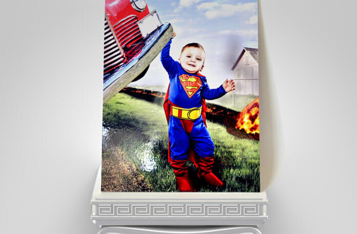 Cute SuperBoy PhotoBoard