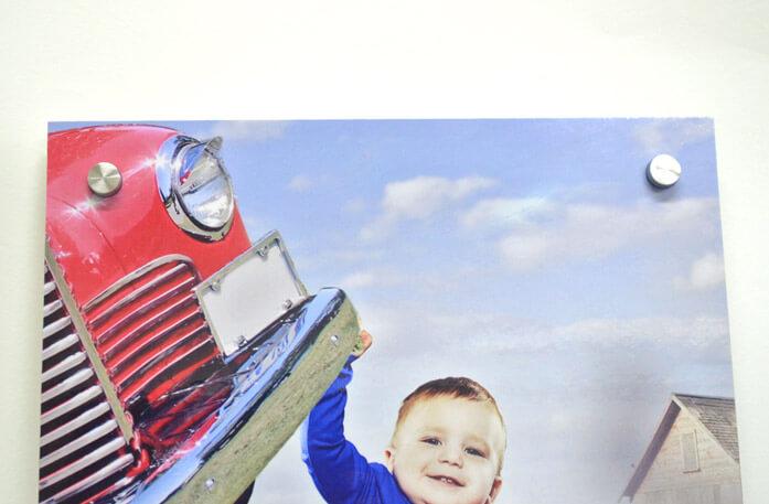 Cute Boy on Photo Board