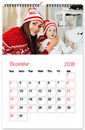 """Wall Calendar 17""""x12"""""""