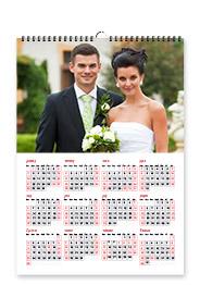 """Poster Calendar 11""""x8"""""""