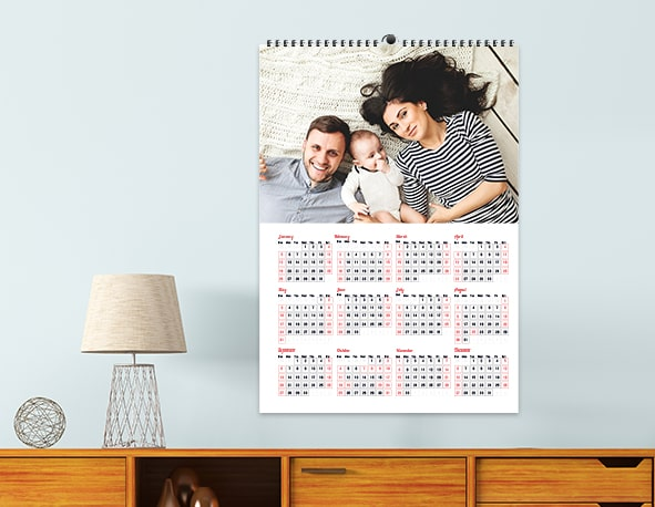 Personalized Poster Calendars