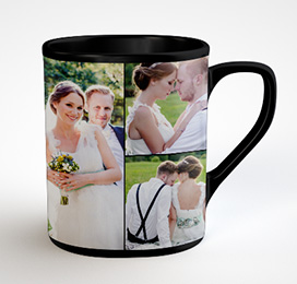 Wedding Day Photo Mugs