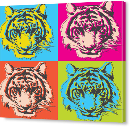 Turn pictures into pop art on canvas canvas pop art andy warhol solutioingenieria Choice Image