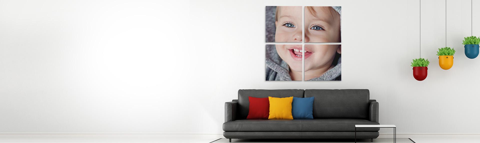 Split Canvas Prints Custom Multi Panel Photo