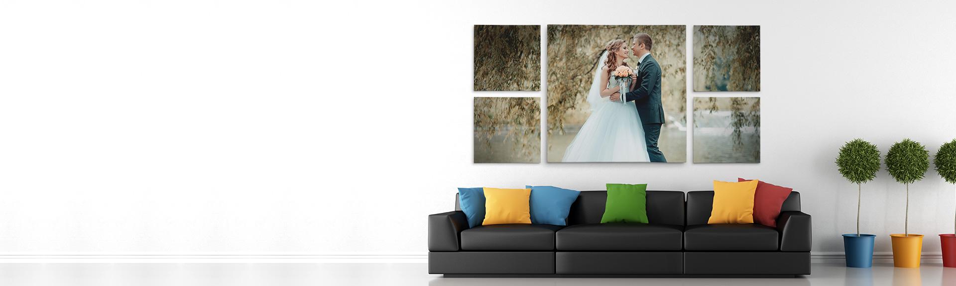 split canvas prints custom multi panel canvas photo prints