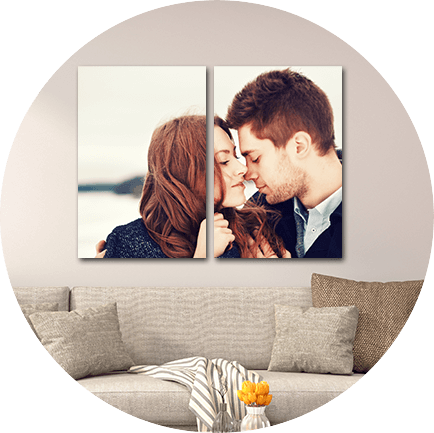 Choose your space for canvas wall art
