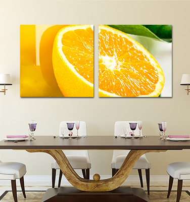 Two Panel Canvas Prints | Diptych Photo Canvas | Wall Art