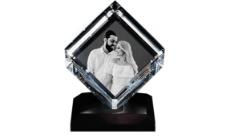 3D Crystal Photo