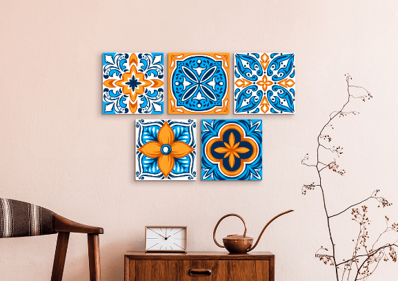 Creative Uses for Printed Tiles