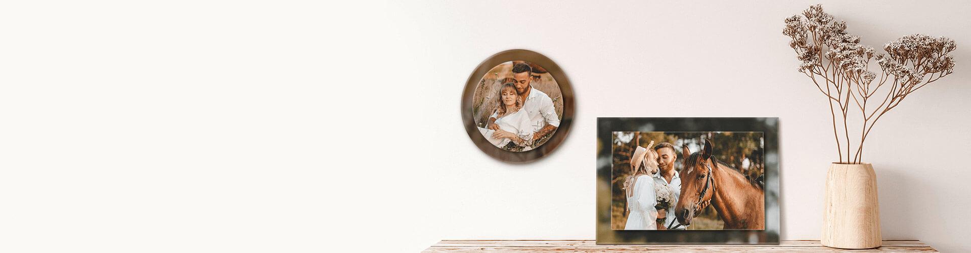 Double Acrylic Frames