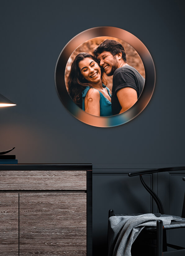Personalized Double Acrylic Frame