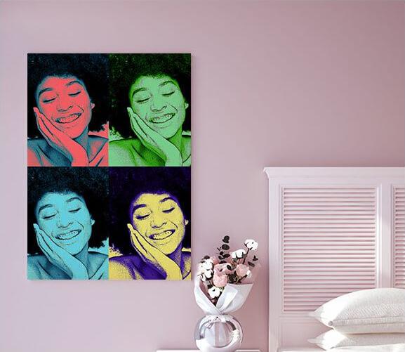 Pop Art Canvas