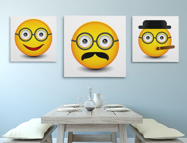 Emoji Art Prints