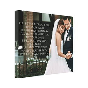 Wedding Photo /& First Dance Lyrics Canvas.Wedding collage canvas.wedding gift,