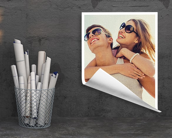 Rolled Canvas Photo Printing