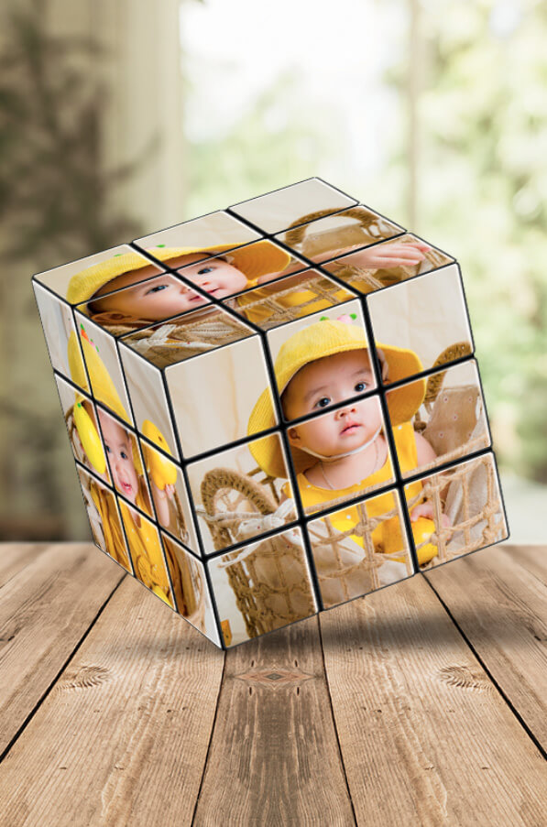 Custom Photo Rubik's Cubes