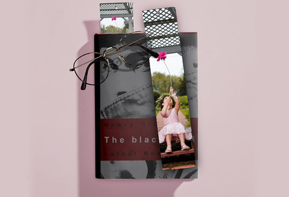 Custom Photo Bookmarks