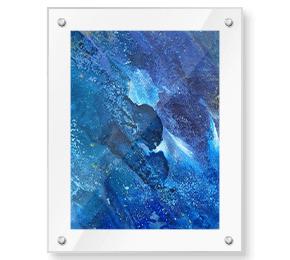 Clear Frame Acrylic Wall Art