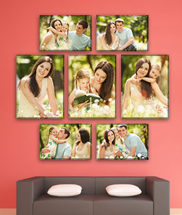 7 Panel Displays Size - 44x42
